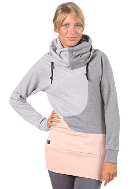 UCON Womens Allant Hooded Sweat light grey/grey/rose