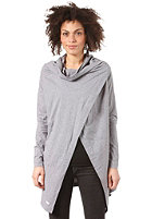 UCON Womens Blanket Cape Sweatshirt grey/melange