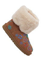 UGG AUSTRALIA Womens Embroidery Mid chestnut
