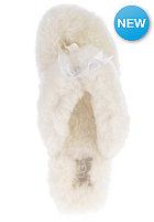UGG AUSTRALIA Womens Fluff Flip Flop II white