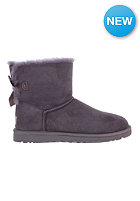 UGG AUSTRALIA Womens Mini Bailey Bow lvgr (locomotive grey)