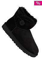 UGG AUSTRALIA Womens Mini Bailey Button black