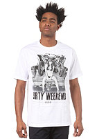 UNIT RIDERS Dirty Weekend S/S T-Shirt white