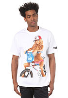 UNIT RIDERS Skyway S/S T-Shirt white
