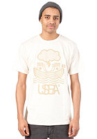 UNITED SKATEBOARD ARTISTS Arch S/S T-Shirt nature / beige