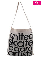UNITED SKATEBOARD ARTISTS Century Bag nature/black