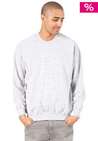 UNITED SKATEBOARD ARTISTS College Sweat light oxford / white