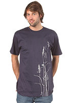 UNITED SKATEBOARD ARTISTS Grass 2 S/S T-Shirt navy/off white