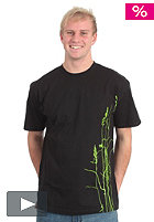 UNITED SKATEBOARD ARTISTS Grass 2 T-Shirt lime/black