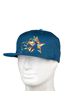 UNITED SKATEBOARD ARTISTS Mosaik Star Cap blue/red navy