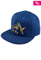 UNITED SKATEBOARD ARTISTS Mosaik Star Snapback Cap petrol / 4c