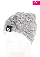 UNITED SKATEBOARD ARTISTS Square Beanie grey