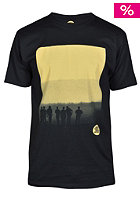 UNITED SKATEBOARD ARTISTS The End  S/S T-Shirt black / sorbet