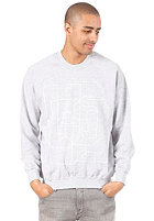 UNITED SKATEBOARD ARTISTS USBA College Sweat light oxford / white