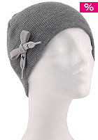 UNITED SKATEBOARD ARTISTS Womens Bow Beanie heather grey