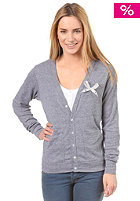 UNITED SKATEBOARD ARTISTS Womens Bow Wow Cardigan athletic grey