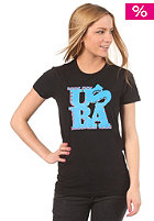 UNITED SKATEBOARD ARTISTS Womens Love USBA S/S T-Shirt black/red b. blue white