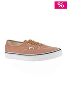 Authentic brushed twill leather brown