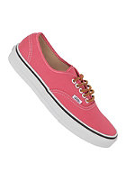 VANS Authentic brushedtwill salmon/trwh