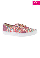 VANS Authentic CA (cali tribe washed) poppy red/potent purple