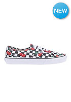 VANS Authentic cherry checker