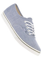 VANS Authentic Lo Pro (chambray) blue/true white