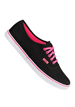 VANS Authentic LO Pro neon black/pink