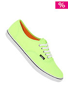 VANS Authentic Lo Pro neon green