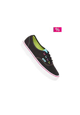 VANS Authentic multi pop bla
