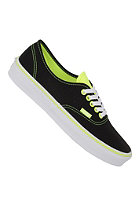 VANS Authentic neon pop blac