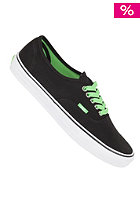VANS Authentic Shoes (pop lace) blac
