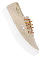 VANS Authentic Slim washed canvas cream/true white