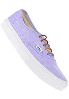 VANS Authentic Slim washed canvas violet tulip/true white