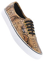 VANS Authentic snake gold