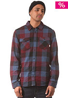 VANS Box Flannel L/S Shirt black/wine
