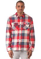 VANS Box Flannel L/S Shirt ensign blue/rei
