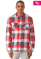 VANS Box Flannel L/S Shirt ensign blue/rei