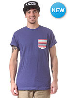VANS Calexico Pocket S/S T-Shirt sparkle blue