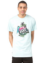 VANS California Incline S/S T-Shirt ala moana blue