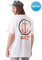 VANS Captain Fin X Vans Anchor S/S T-Shirt white