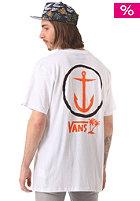 VANS Captain Fin X Vans Anchor S/S T-Shirt white