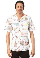 VANS Casual Friday Aloha S/S Shirt white ukeleles