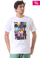 VANS Checker Blaster II S/S T-Shirt white