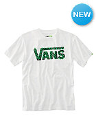 VANS Checker Classic Bo S/S T-Shirt white/kelly