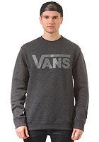 VANS Classic Crew Knit Sweat black heather/g