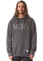 VANS Classic Hooded Sweat blkhthr/gravel