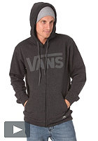 VANS Classic Hooded Zip Sweat black heather/gravel