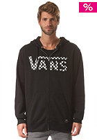 VANS Classic Hooded Zip Sweat black/white che