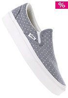 VANS Classic Slip-On chambray dots