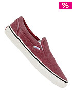 VANS Classic Slip On Washed rio red